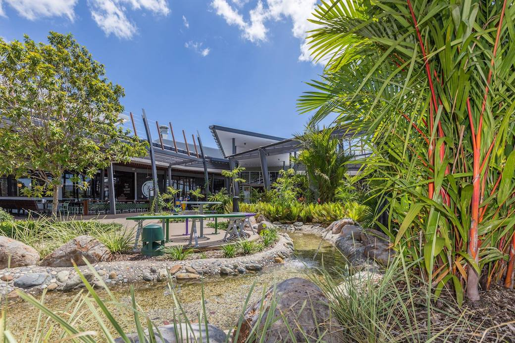 Smithfield Shopping Centre Gardens - Outdoor Solutions Queensland 3