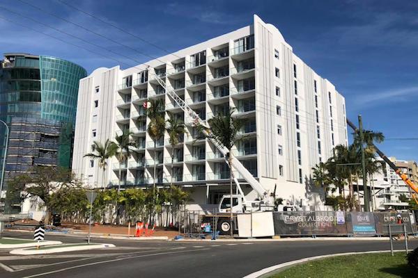 Crystalbrooks-Riley-Hotel-Under-Construction-Building-Outdoor-Solutions-Queensland-Cairns-Landscaper
