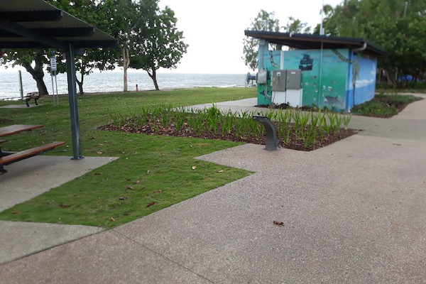 Holloways-Beach-Picnic-Area-Outdoor-Solutions-Queensland-Cairns-Landscaping